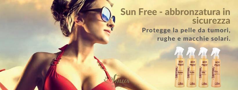 Sun Free – abbronzatura in sicurezza